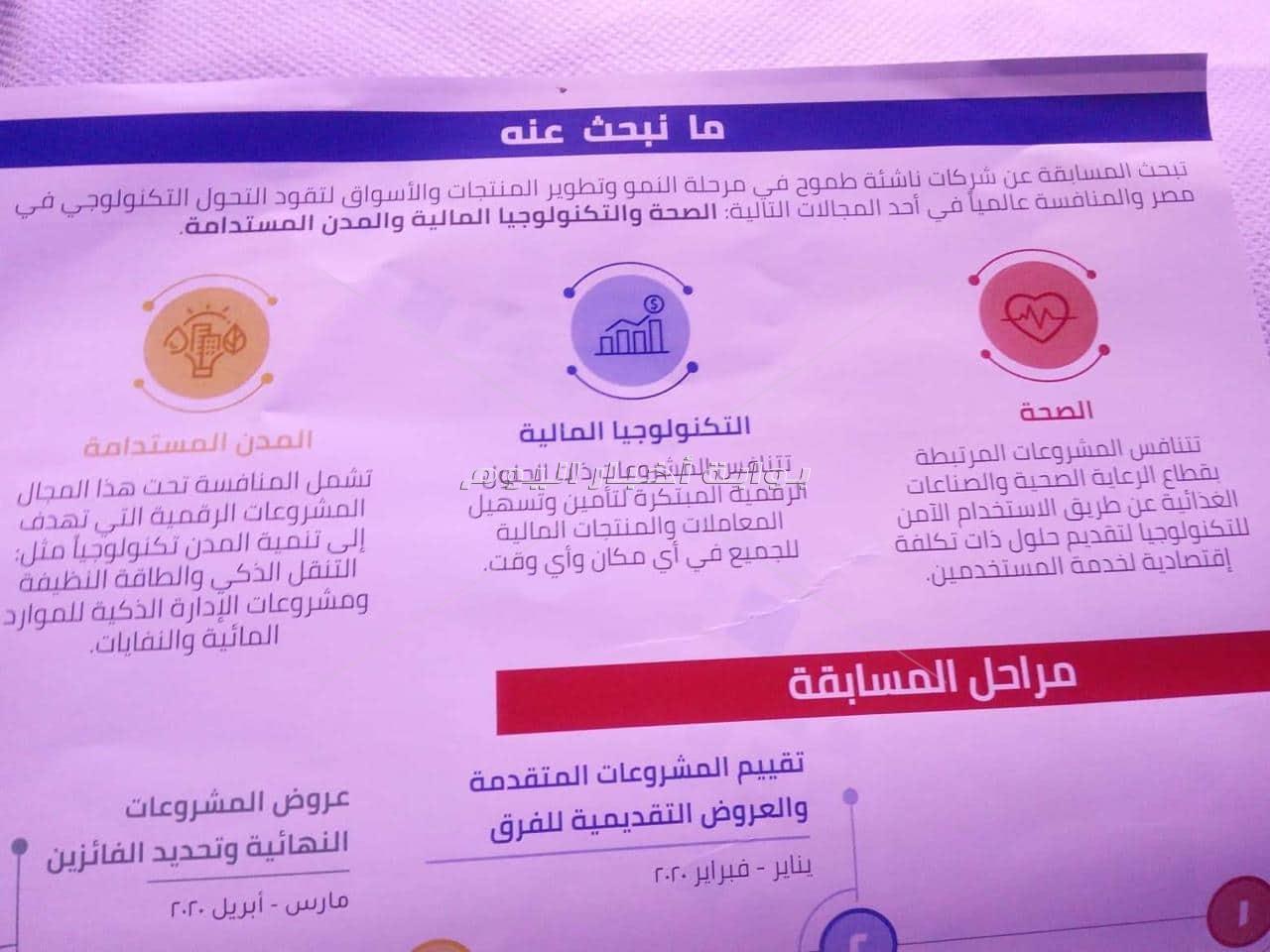 مسابقة مصرية فرنسية للشركات الناشئة في مصر