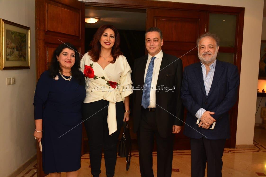 استقبال السفارة المصرية لضيوف مهرجان الرباط الدولي لسينما المؤلف