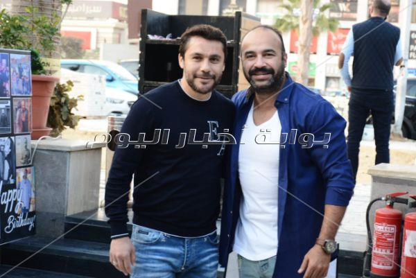 نجوم الفن والمشاهير يحتفلون بعيد ميلاد المستشار محمد الهجرسي