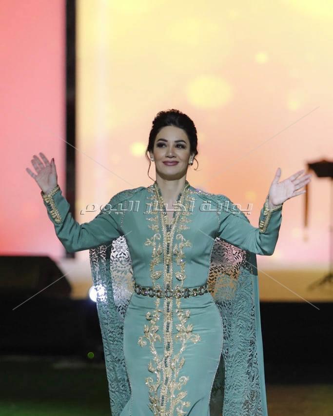 ديانا حداد تتألق مع بحفل اليوم الوطني الإماراتي