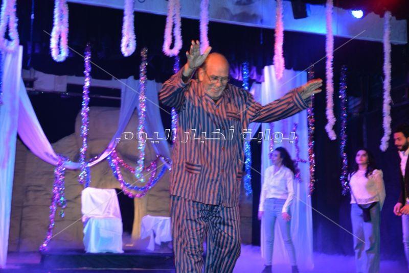 نجوم الفن في حفل ختام مهرجان المهن التمثيلية