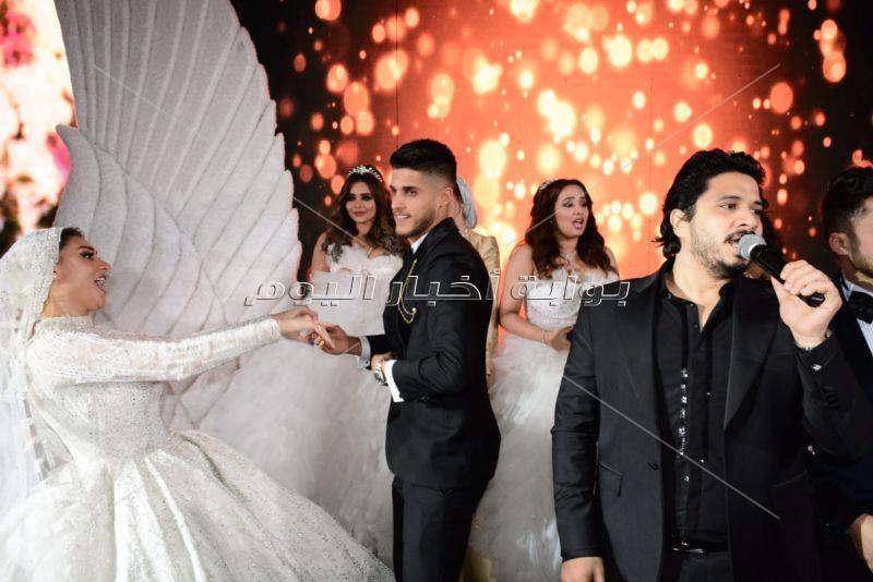 نجوم الأهلي يحتفلون بزفاف أحمد الشيخ 2