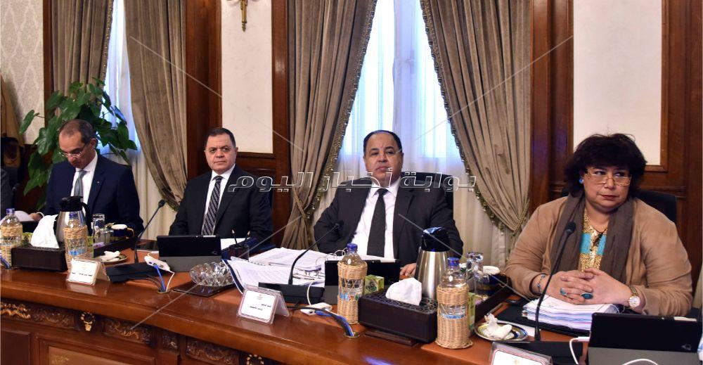 رئيس الوزراء يترأس اجتماع الحكومة الأسبوعي _ تصوير:أشرف شحاتة