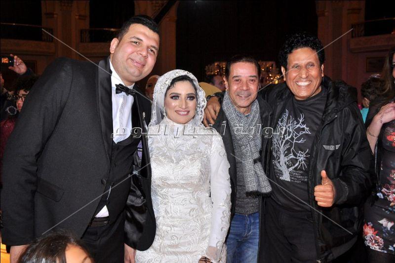 مدحت صالح ومصطفى كامل وعلا رامى يحتفلون بزفاف ابن فيصل خورشيد