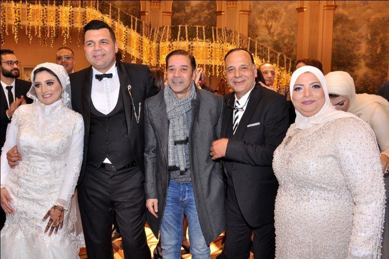 مدحت صالح ومصطفى كامل وعلا رامي يحتفلون بزفاف ابن فيصل خورشيد