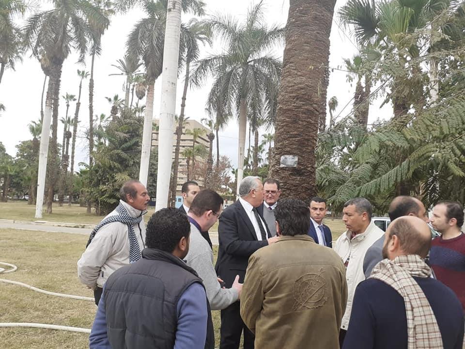 زيارة وزير الزراعة