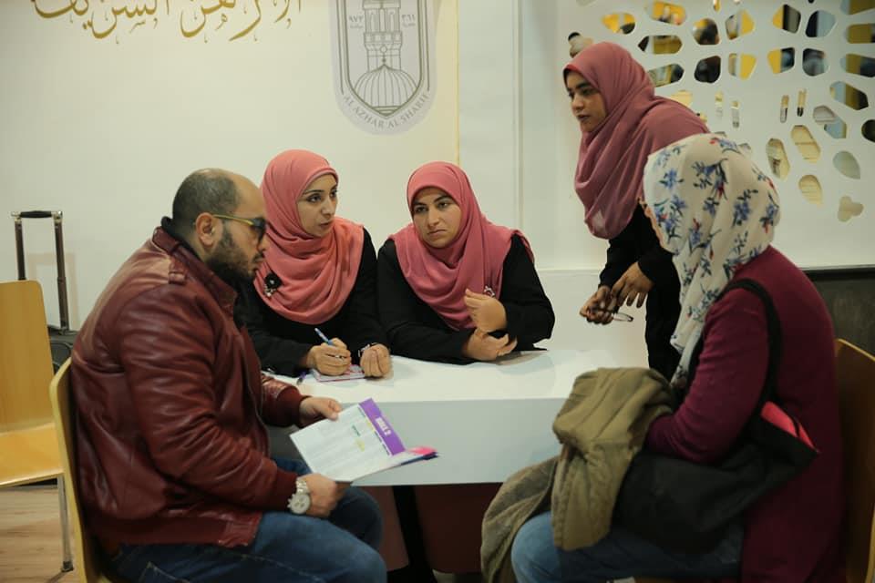 """صور  """"مفتيات الأزهر"""" بمعرض الكتاب..تأكيد لنجاح مبادرة الإمام الأكبر"""
