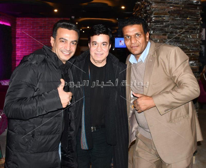 نجوم الغناء يحتفلون بعيد ميلاد عمر حفيظ