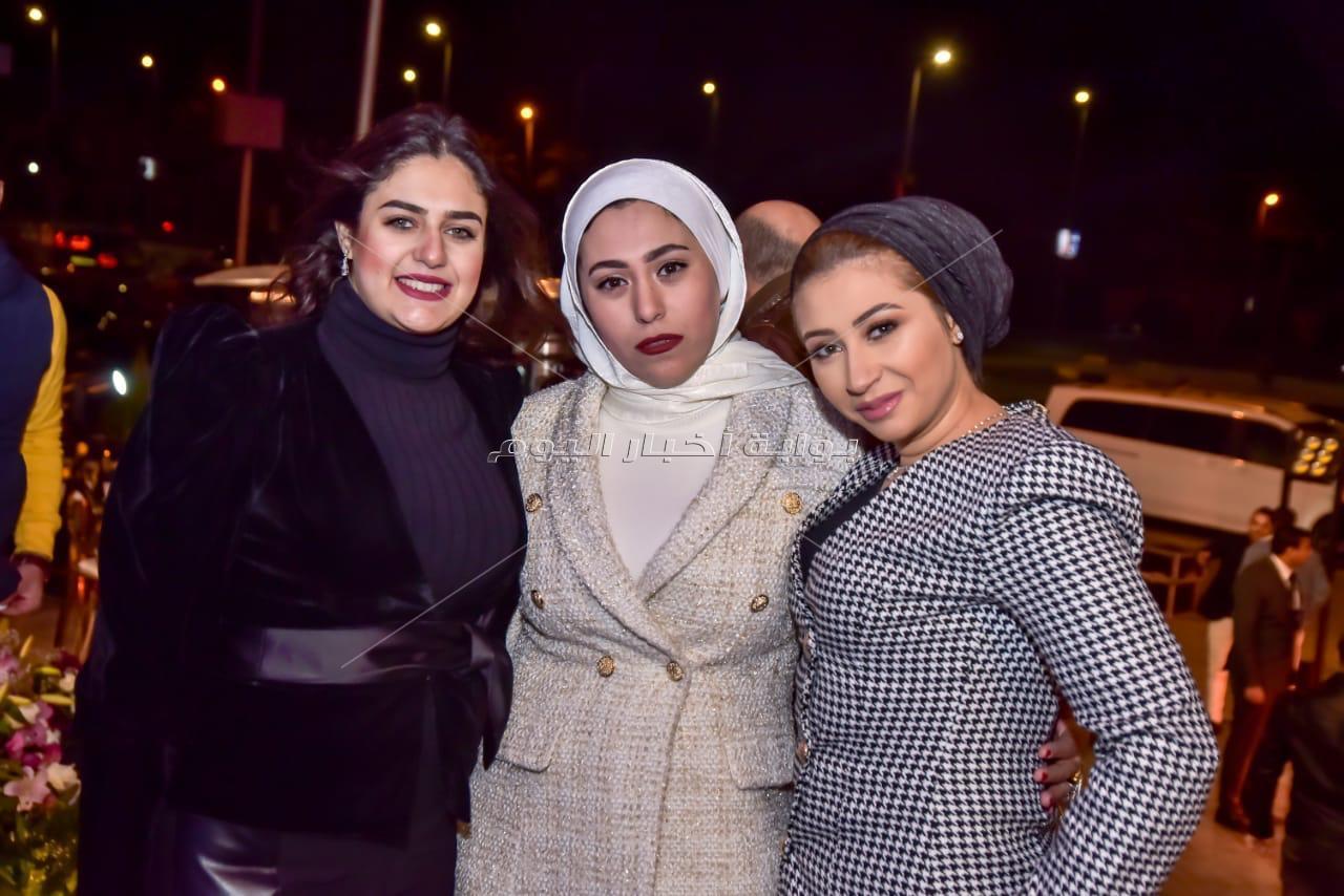 حمادة هلال وخالد سليم يجتمعان في حفل هشام ربيع