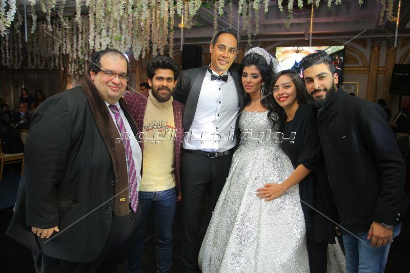 سعد الصغير وياسر عدوية يحتفلان بزفاف «عمرو ودينا»