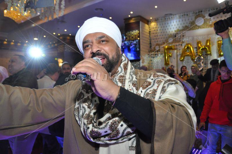 متقال ومنعم يحتفلان بعيد ميلاد ابن نجل مصطفى عاطف