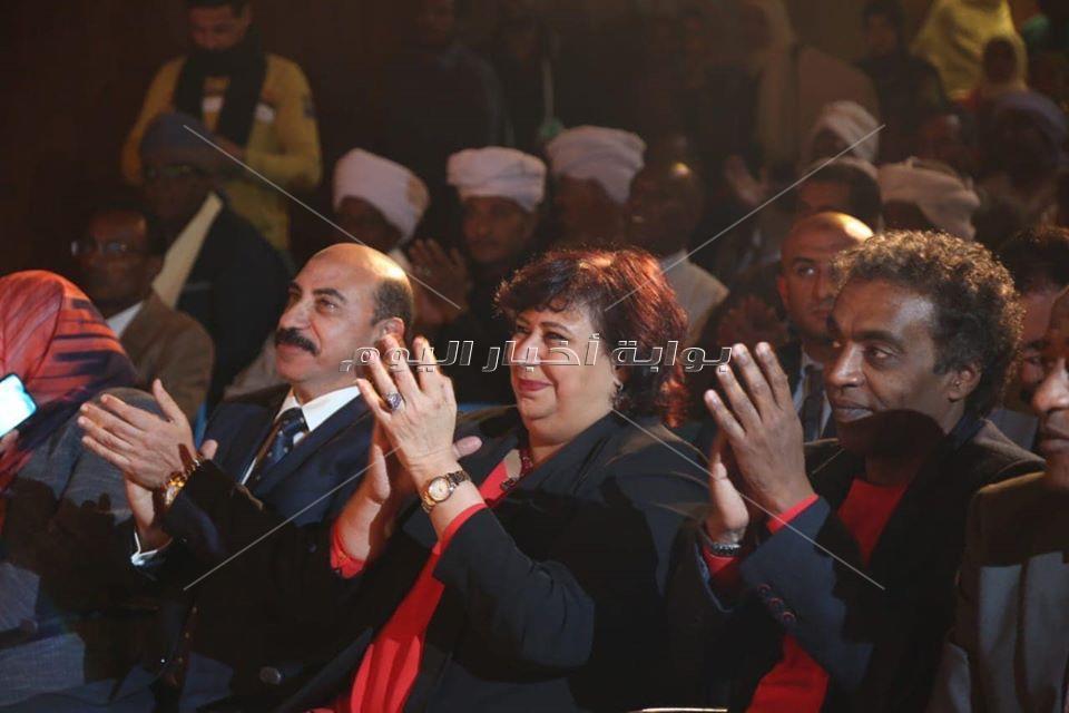وزير الثقافة ومحافظ اسوان يفتتحا قصر ثقافة توشكى