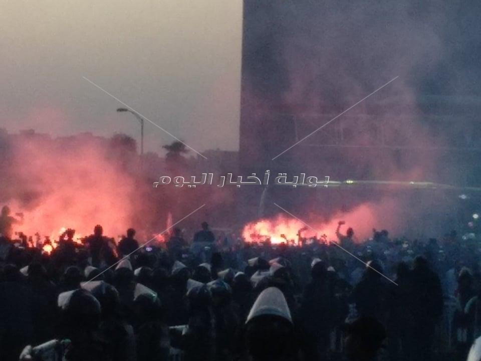الشماريخ تستقبل بعثة الزمالك في استاد القاهرة