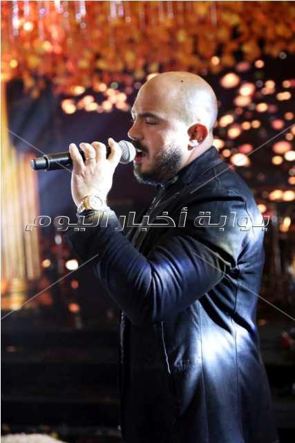 تامر حسني وحماقي والعسيلي والليثي يحتفلون بزفاف يورا محمد