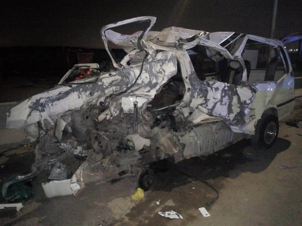حادث سير بمدخل المطار
