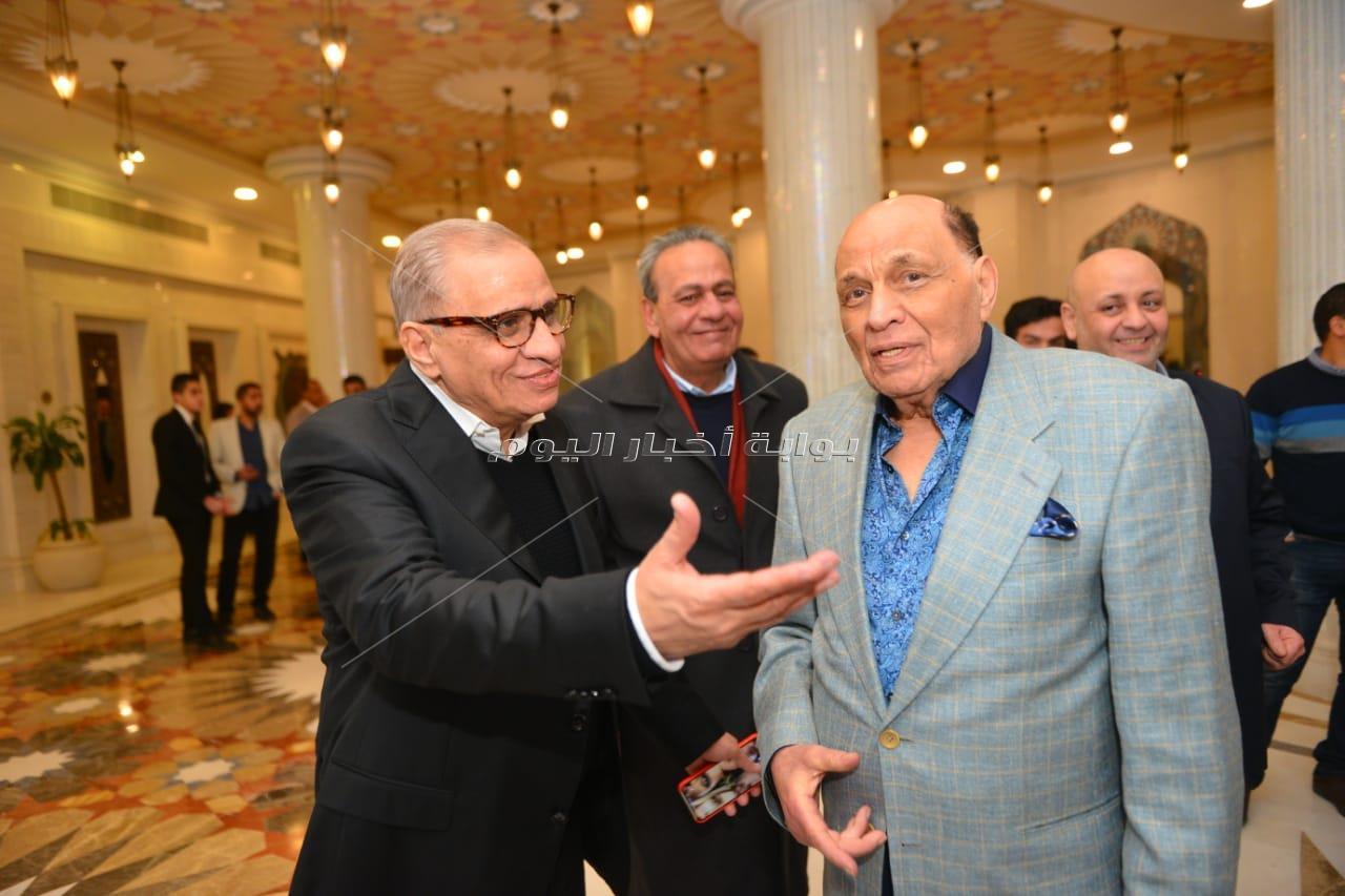 نجوم الفن والرياضة في عقد قران نور شريف السبكي