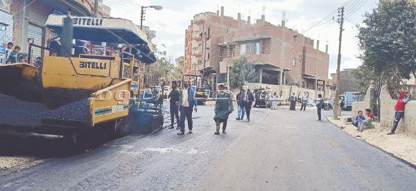 طفرة في الطرق بين القرى والمدن