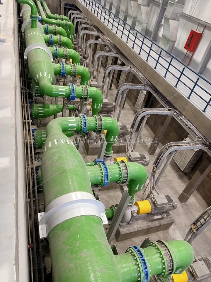 جولة «بوابة أخبار اليوم» داخل مشروع محطة «تحلية مياه البحر لمدينة شرق بورسعيد»