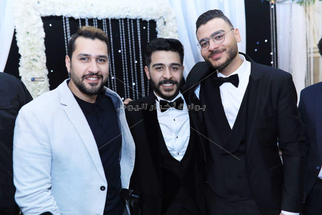 أحمد كامل يحتفل بزواجه بحضور العسيلي وتامر عاشور وشيكو
