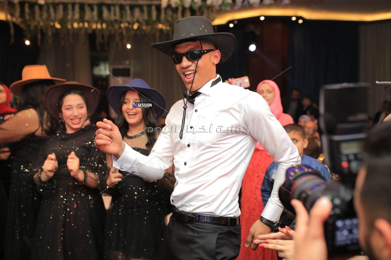 نجوم الكرة يحتفلون بزفاف محمد صبحي