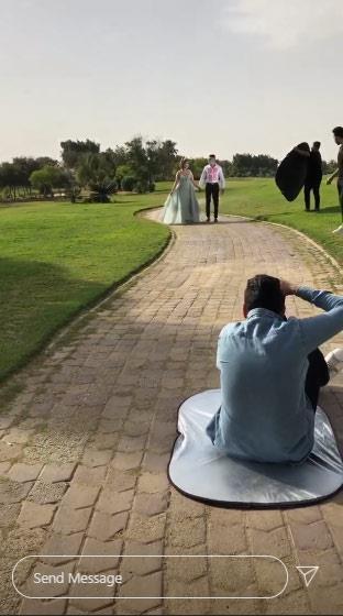 حسن شاكوش يحتفل بخطوبته بفتاة من خارج الوسط الفني
