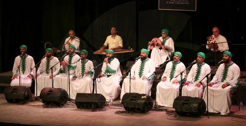 تفاعل كبير لحفلين «الحضرة» في يوم واحد بعد استئناف «الساقية» حفلاتها