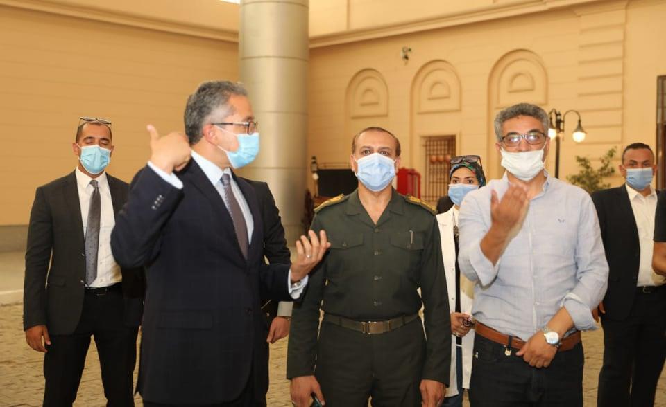 تفقد الدكتور خالد العناني وزير السياحة والآثار