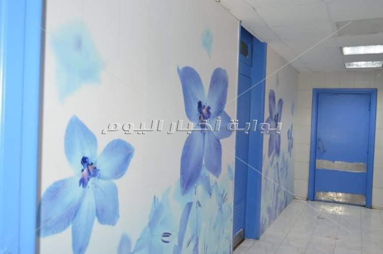 تطوير جناح العمليات بمستشفى الأطفال بجامعة المنصورة