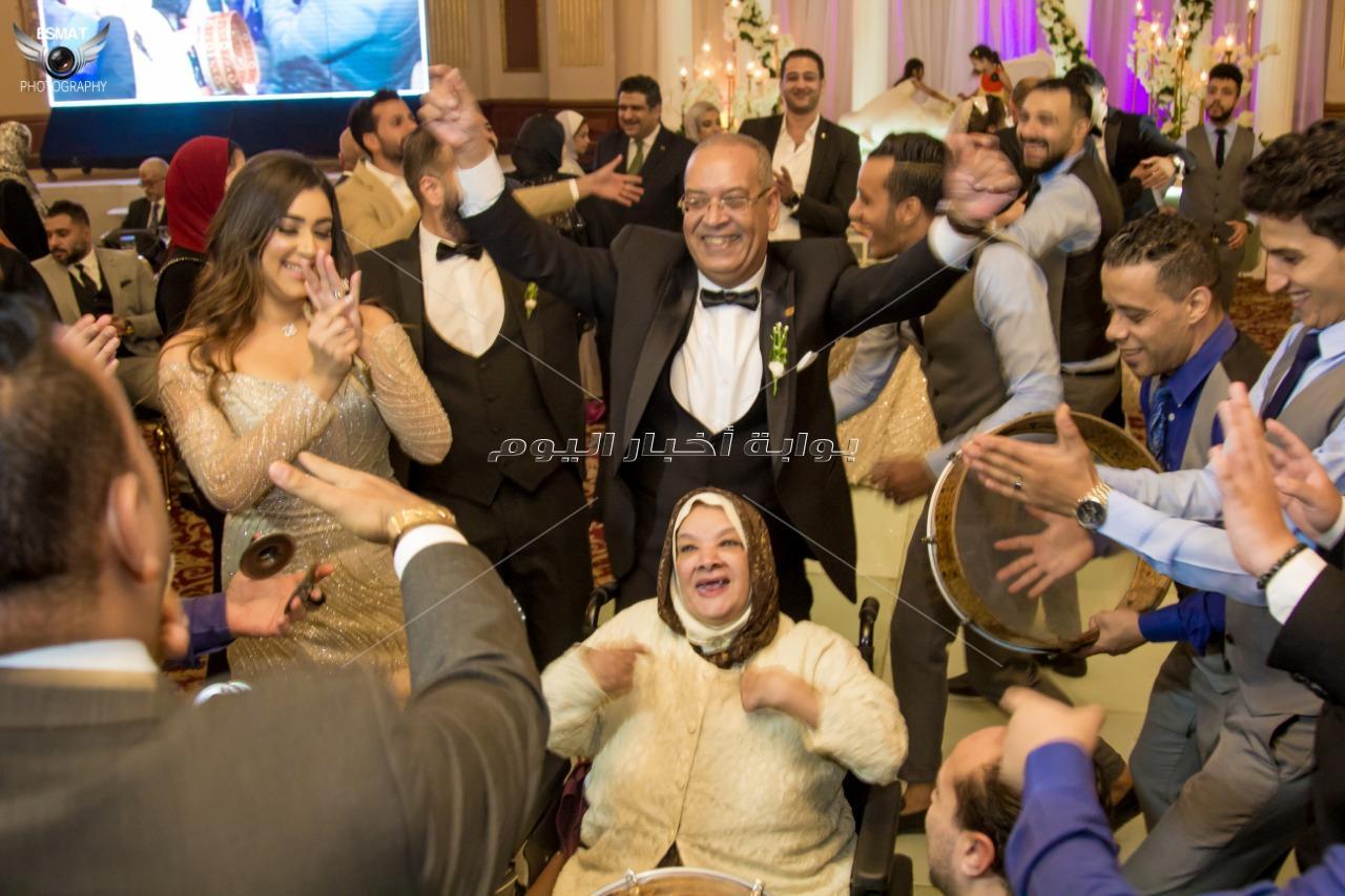 محمود الليثي نجم زفاف «أحمد وإسراء»