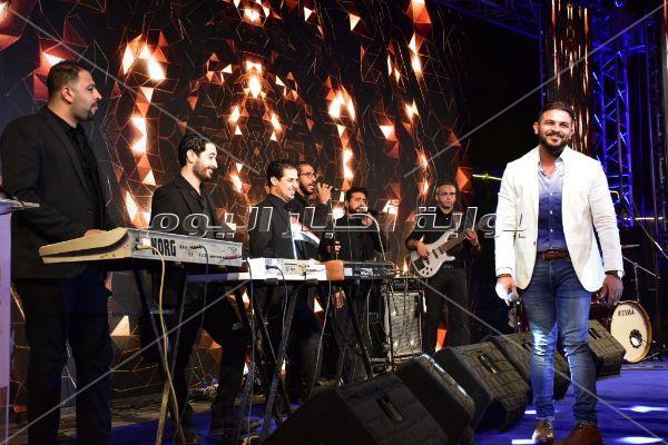 محمد رشاد يُشعل حفل العيد القومي لـ6 أكتوبر بالأغاني الوطنية