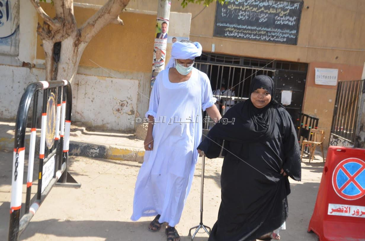 إقبال كثيف على لجان الاقتراع بإنتخابات النواب في إسنا جنوب محافظة الأقصر