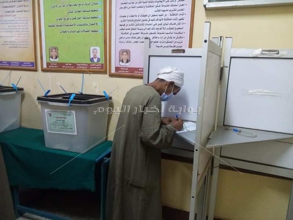 اقبال متوسط في انتخابات مجلس النواب 2020 بقنا