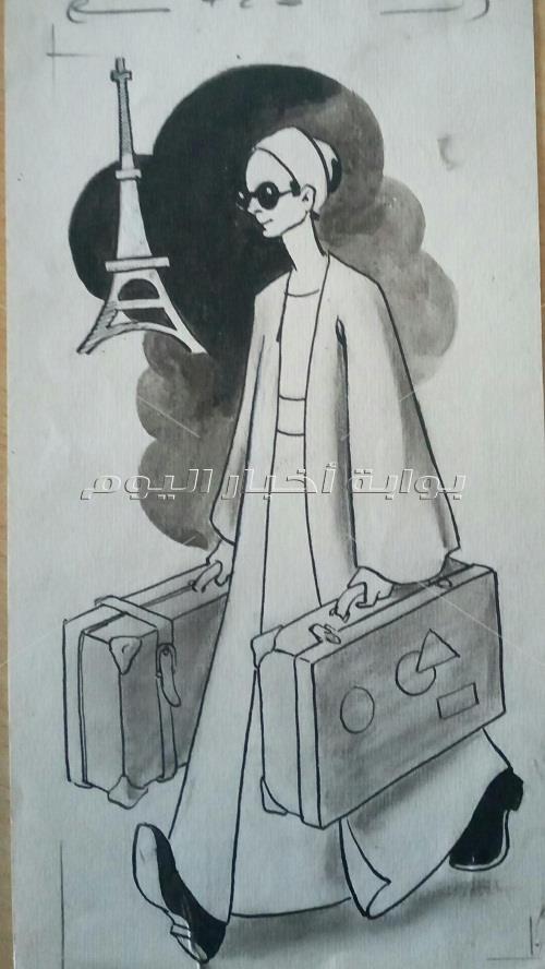مراحل من حياة طه حسين بريشة التشكيليين