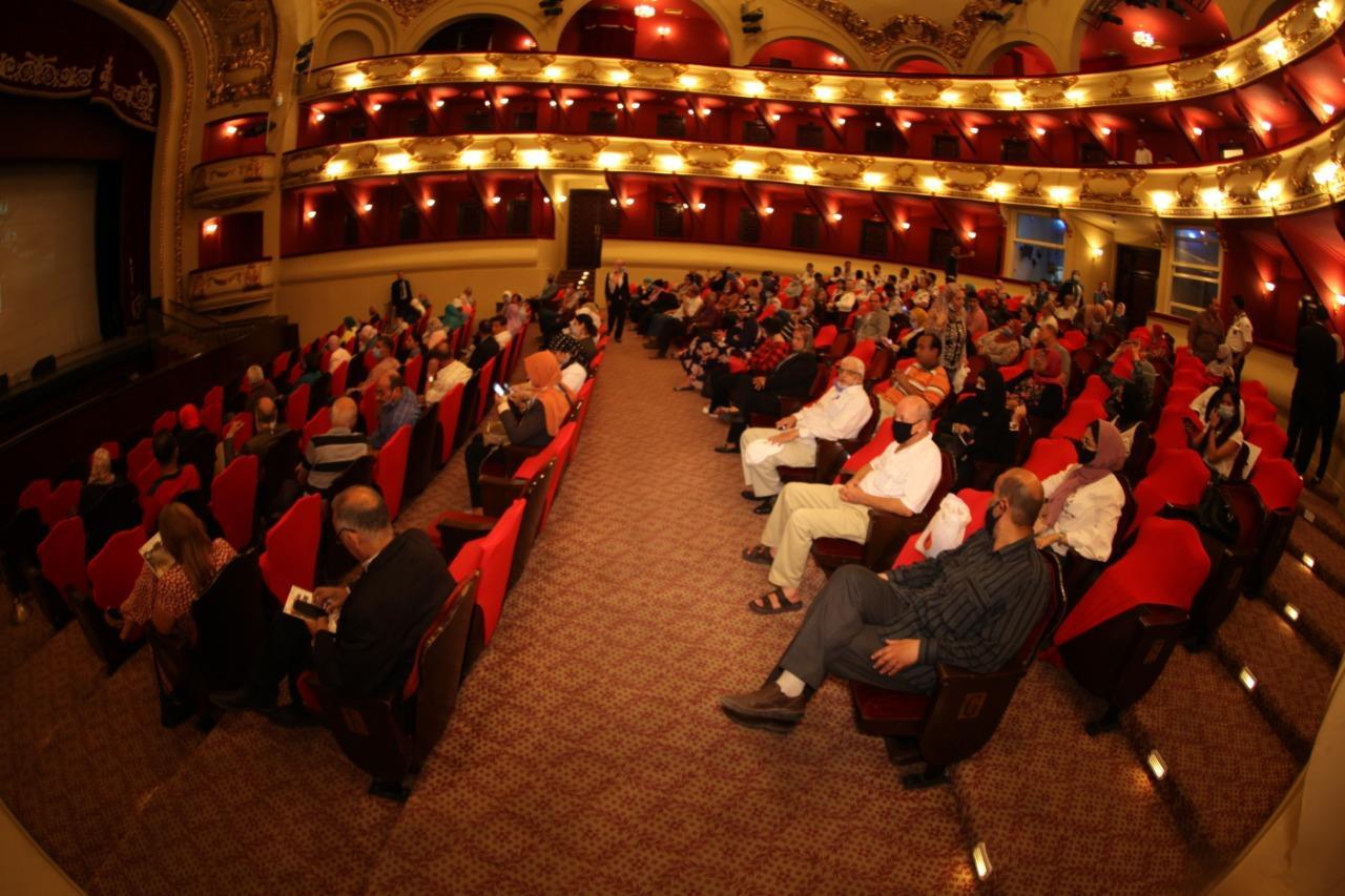 حضور جماهيري كبير باحتفالية «أوبرا الإسكندرية» بذكرى انتصارات