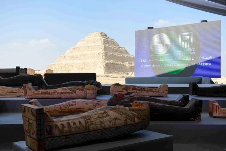 """«سقارة» .. تاريخ من الاكتشافات الأثرية """"2014- 2020"""""""