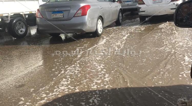 تساقط الثلوج وغرق الشوارع ... الطقس السيء يسيطر على شوارع مصر