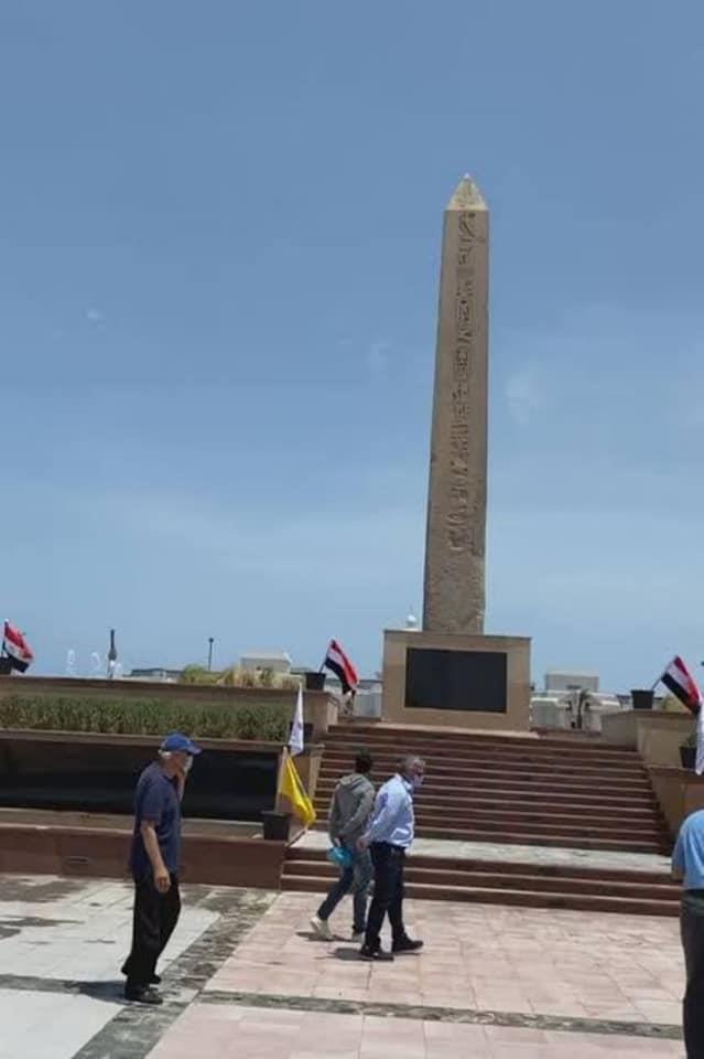 4 مسلات لرمسيس الثاني تزين أهم معالم مصر السياحية