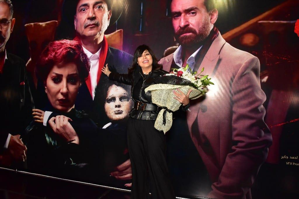 """حنان مطاوع وايتن عامر وبشرى في العرض الخاص لفيلم """"خان تيولا"""