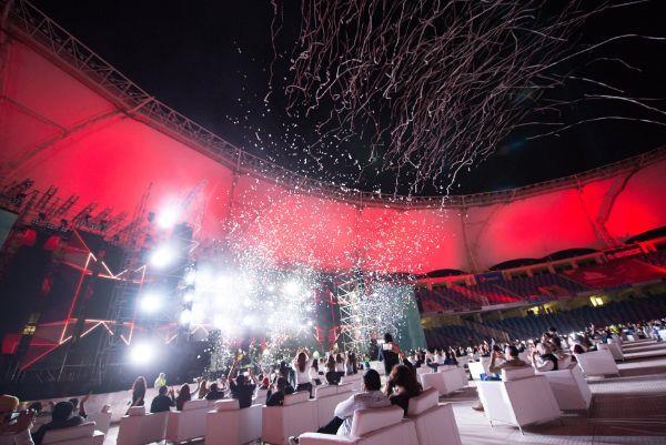 حفل عمرو دياب في دبي