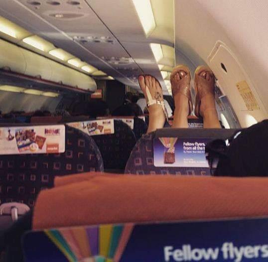 غرائب ركاب الطائرات