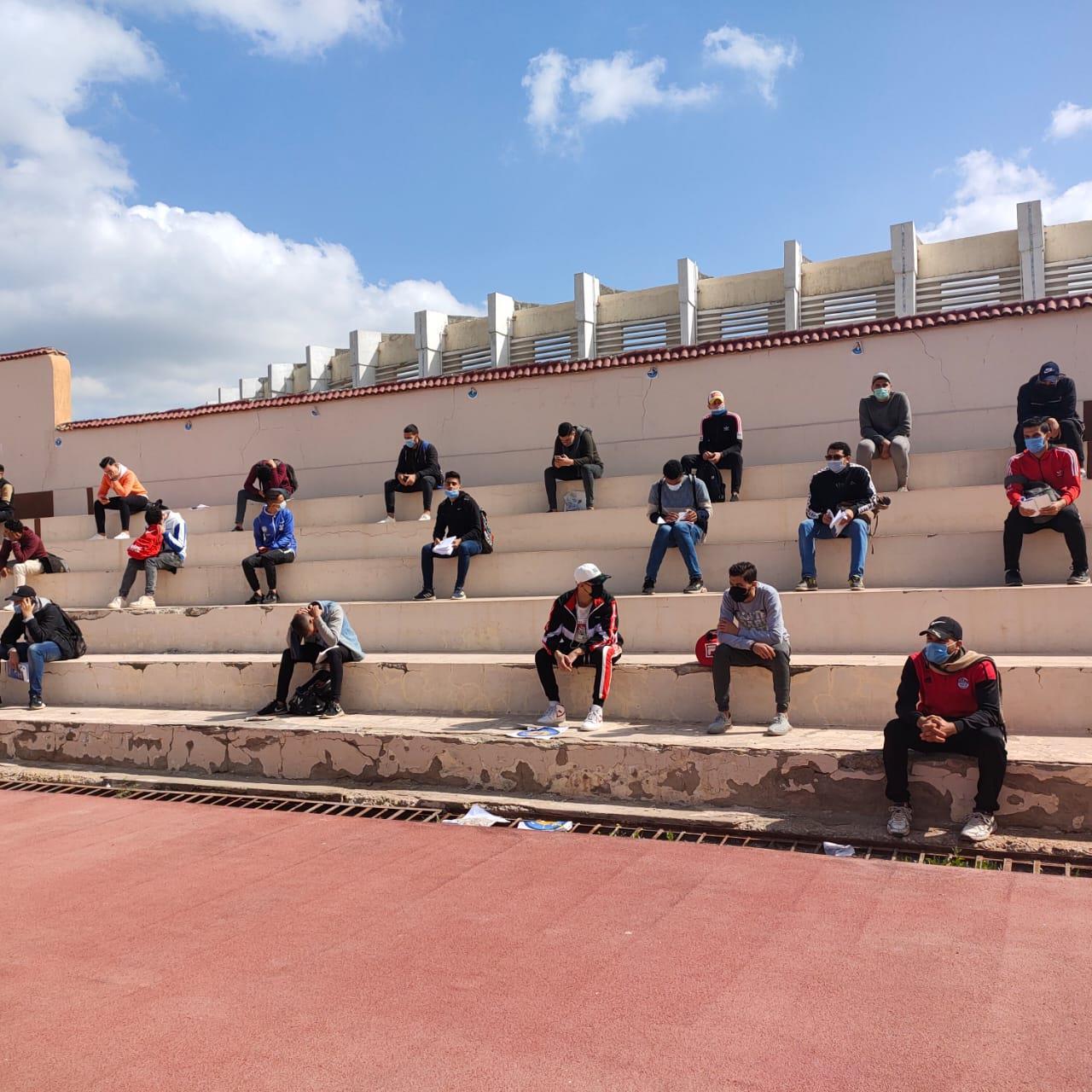 بإجراءات احترازية مشددة كلية تربية رياضية طنطا
