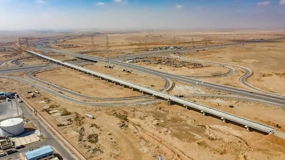 صور ترصد تنفيذ كوبري السويس بمشروع القطار الكهربائي LRT