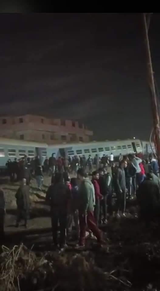 حادث قطار مينا القمح