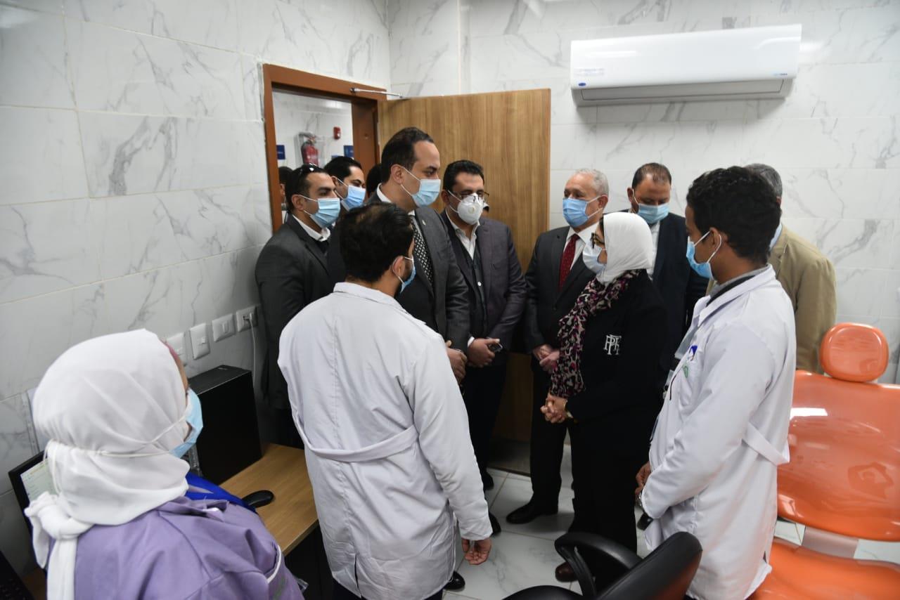 القطاع الطبي بمحافظة الأقصر