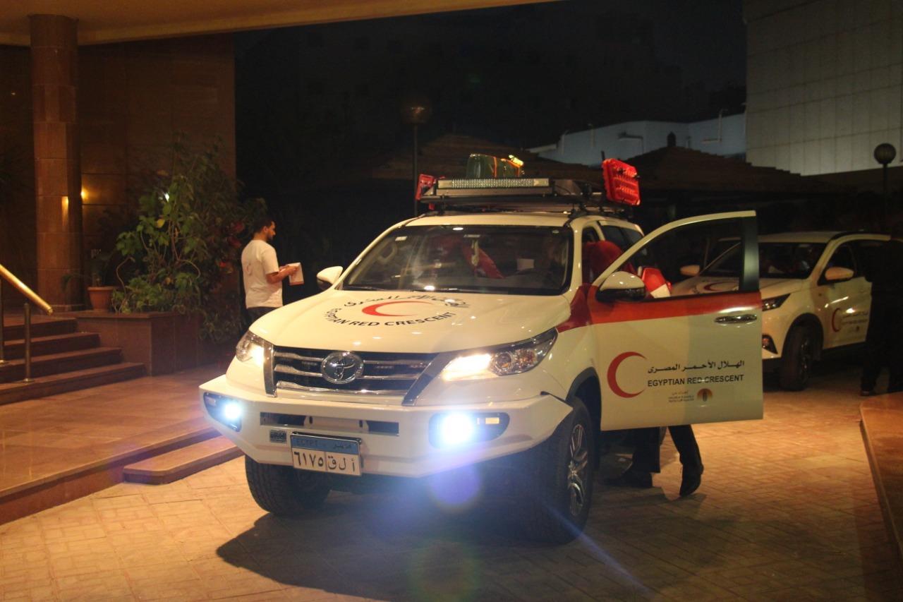 تويوتا إيجيبت تسارع بتلبية احتياج الهلال الأحمر المصري