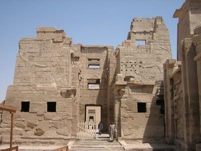 معبد مدينة هابو