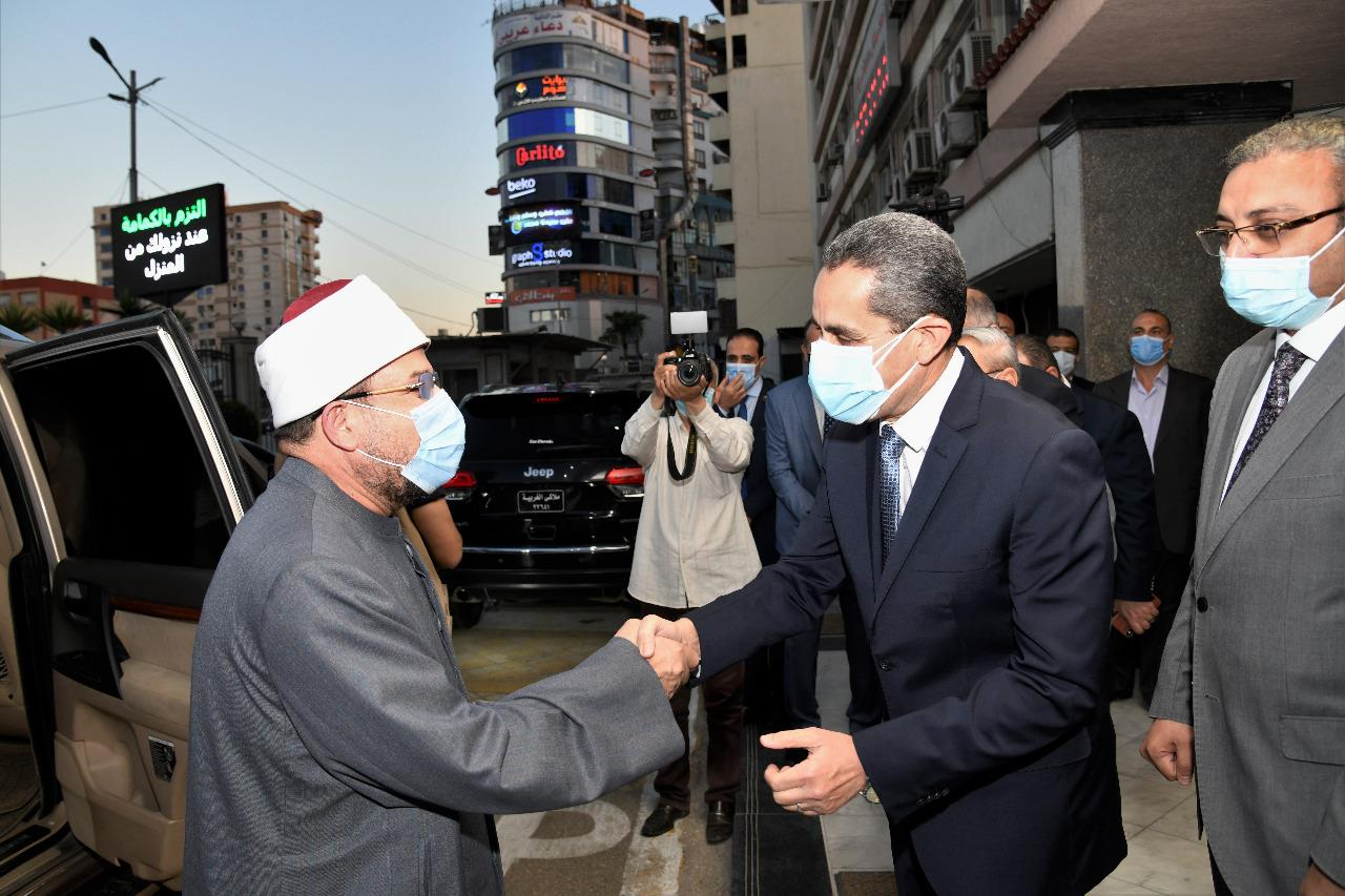 الدكتور طارق رحمي محافظ الغربية