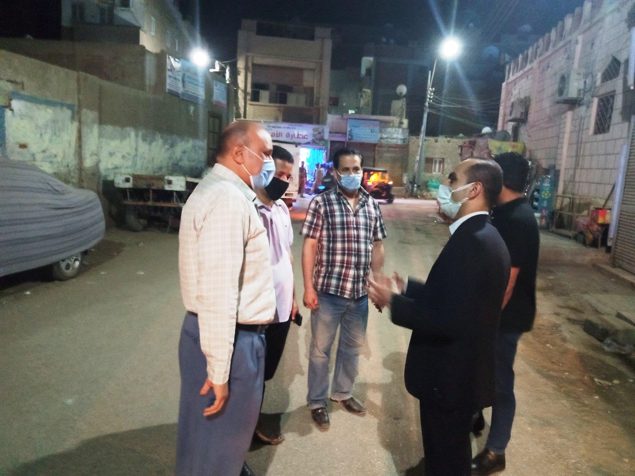 نائب محافظ سوهاج يتابع تنفيذ قرارات اللجنة العليا لإدارة أزمة فيروس كورونا بمدينة المراغة