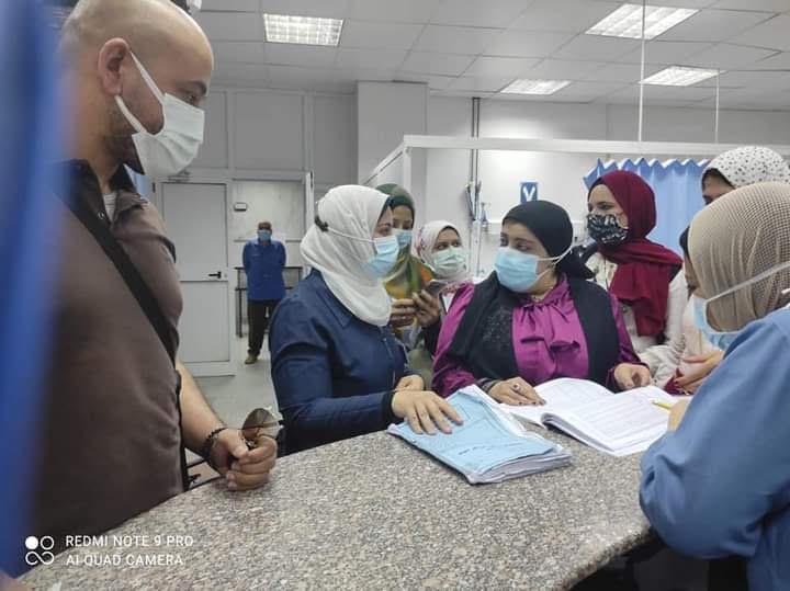 صحة المنوفية : تتابع رفع درجة إستعداد المستشفيات