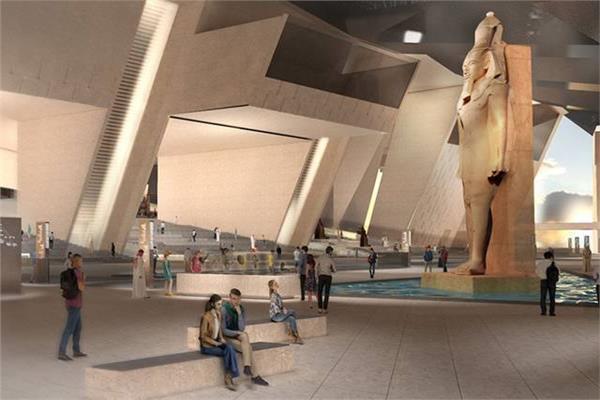 أخر مستجدات المتحف المصري الكبير